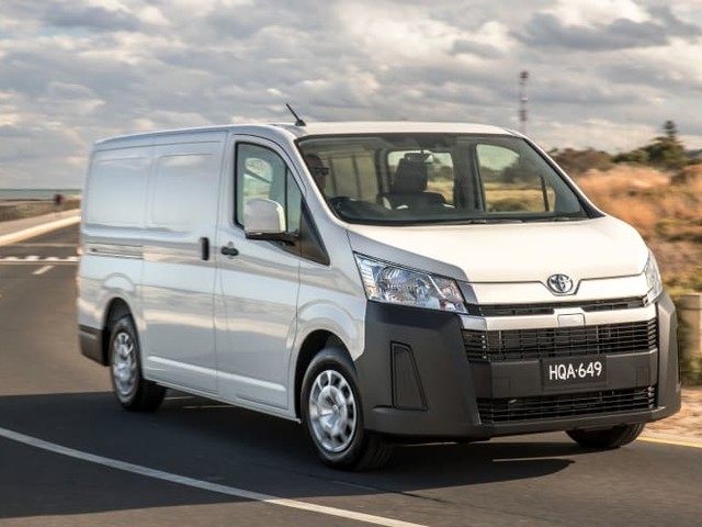2021 Toyota HiAce: White paint now the only colour option, vehicle tracking standard – UPDATE