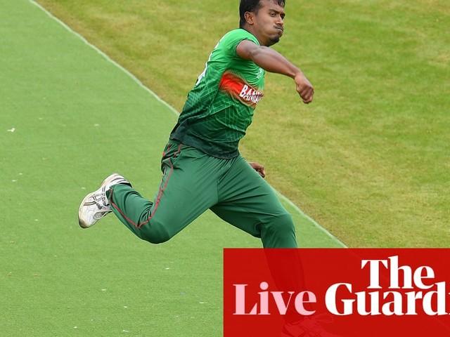 Bangladesh v India: Cricket World Cup 2019 – live!