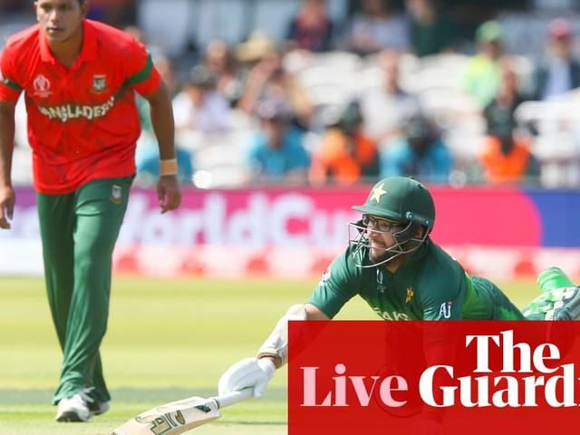 Pakistan v Bangladesh: Cricket World Cup 2019 – live!