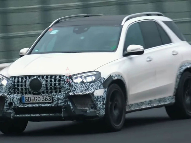 2020 Mercedes-AMG GLE 63 Puts Its New V8 To Good Use During Track Testing