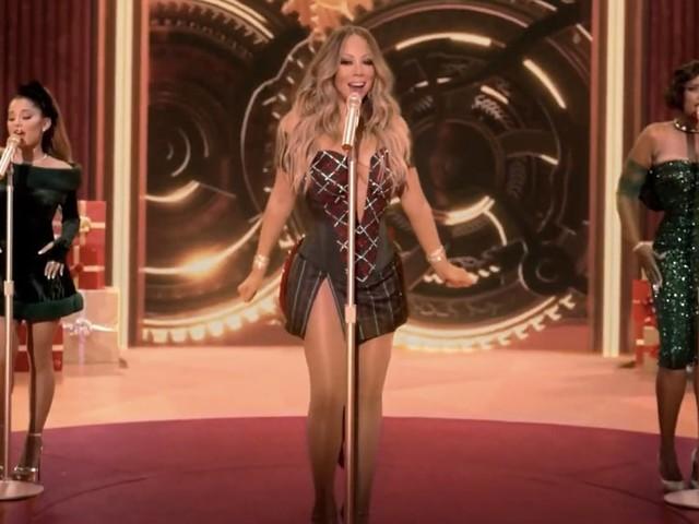 """Mariah Carey, Ariana Grande, and Jennifer Hudson's """"Oh Santa"""" Has Saved 2020"""