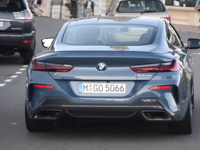 First-Ever Production BMW 8-Series Coupe Caught Out In The Open