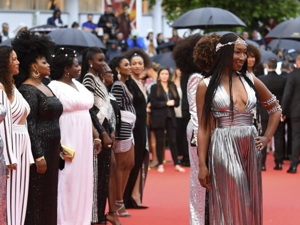 This time, French actresses are protesting about race, not just gender