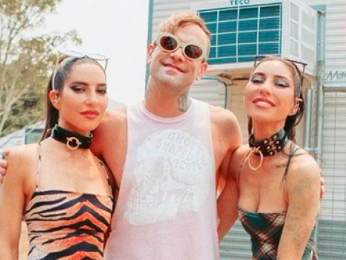 Watch The Used's Bert McCracken Join The Veronicas At Good Things For A Cover Of 'The Taste Of Ink'