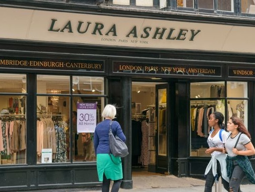 Laura Ashley in the red as its home furnishing falls out of fashion