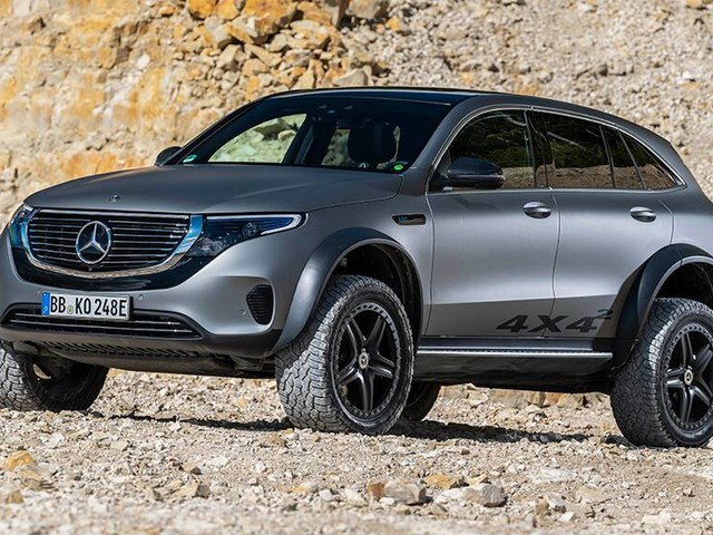 Mercedes-Benz takes on Toyota Land Cruiser with wild EQC 4x4² SUV to crush doubts about electric working off-road