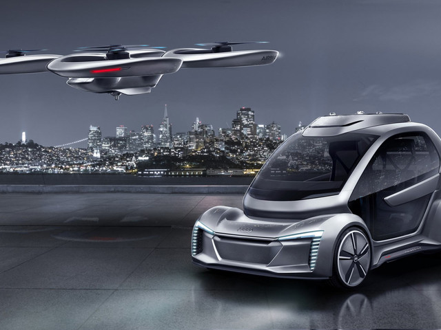 Audi And Airbus Moving Forward With Flying Car Taxi Service