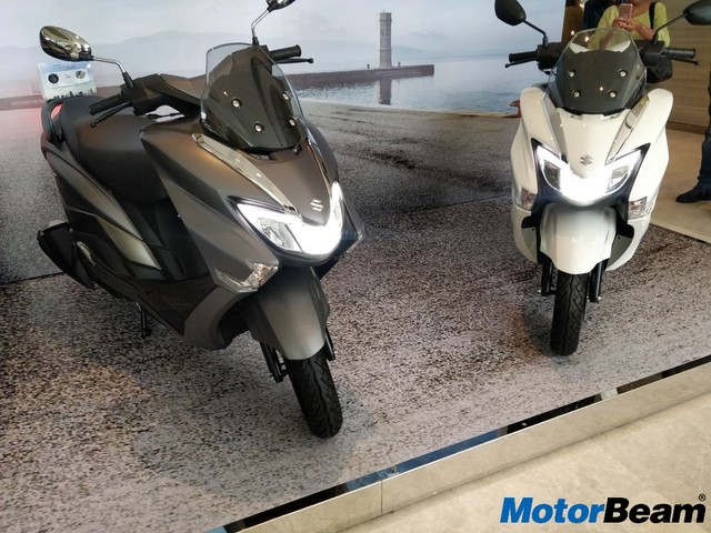 Suzuki Burgman Street Launched In India, Priced At Rs. 68,000/-