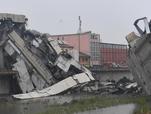 VIOLENT STORM: Fears dozens killed in bridge collapse