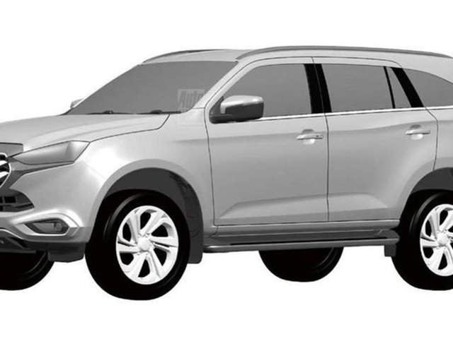 2022 Isuzu MU-X official renders revealed! New D-Max ute-based SUV and Ford Everest, Toyota Fortuner rival gets an early mark