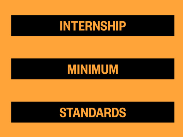 Never Not Creative calls for regulated and paid internships via new standards
