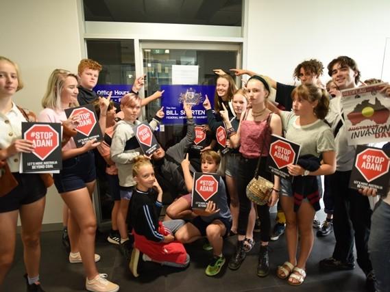 Student strike targets Shorten