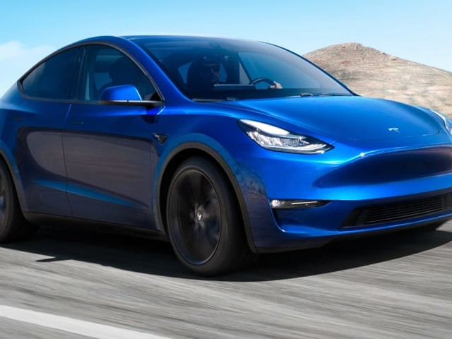 Checking out the Tesla Model Y - video