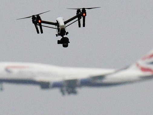 Drone 'no fly zone' around UK airports to be extended to 5km