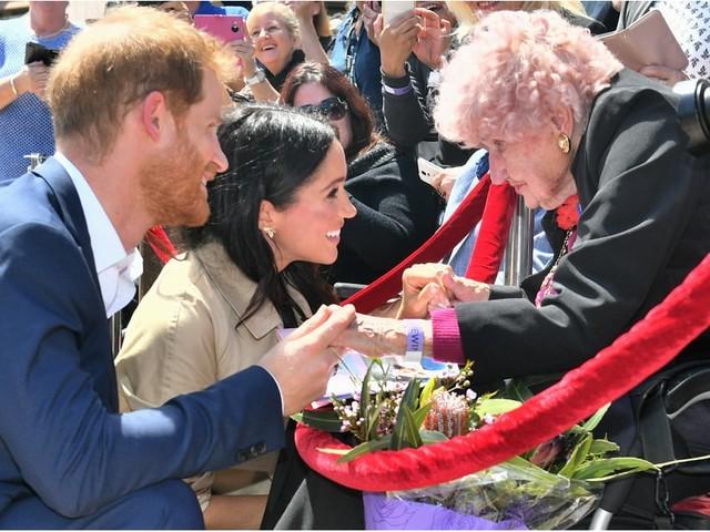 Let's Appreciate Meghan Markle and Prince Harry's Heartwarming Love For Elderly Women