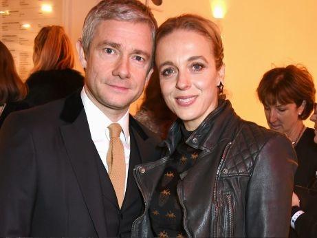 Sherlock stars Martin Freeman and Amanda Abbington split after 16 years