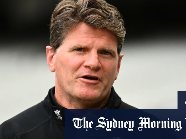 Why not Banger? Robert Harvey's coaching hopes rise with hot Pies