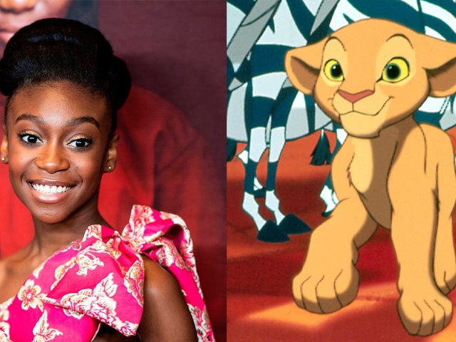 "Why Shahadi Wright Joseph Is Feeling ""a Teensy Bit of Pressure"" About Her Role in The Lion King"