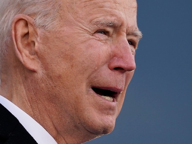 Joe Biden tears up while giving emotional farewell speech in Delaware before inauguration
