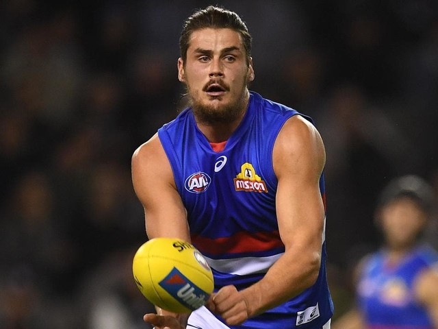 AFL 2019: Tom Boyd still sidelined from full Bulldogs training due to lingering back issue