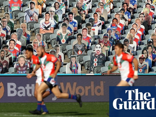 NRL given permission to have small crowds at games in NSW from next week