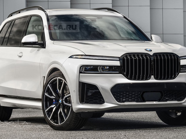 Let's Just Hope The 2022 BMW X7 Facelift Won't Look Like This Speculative Render