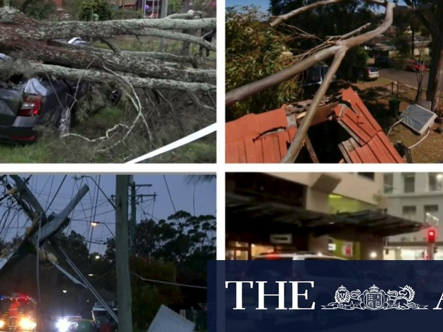 Wild weather conditions to ease in Sydney for rest of weekend
