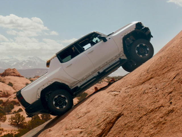 2022 GMC Hummer EV Testing Takes It To Moab