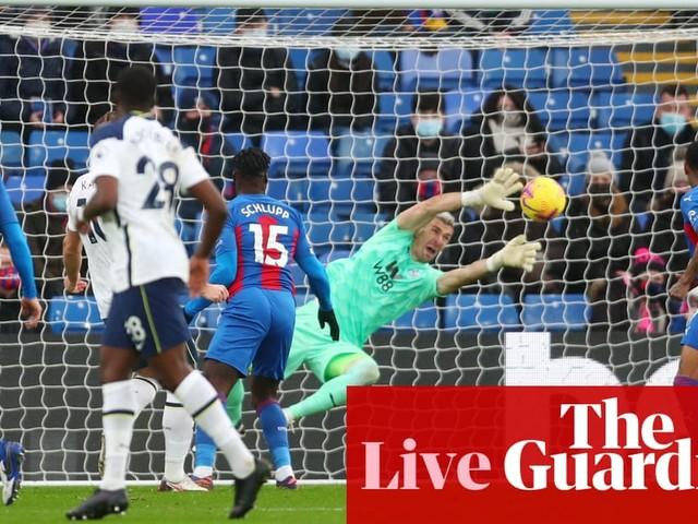 Crystal Palace v Tottenham Hotspur: Premier League – live!