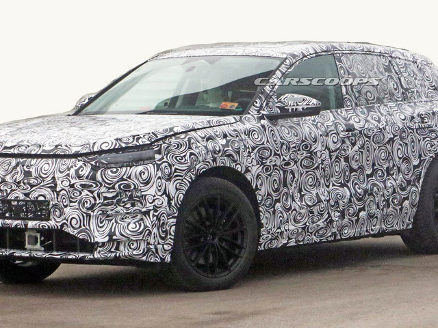 Audi Q6 E-Tron Spied, Could Arrive As Early As Next Year