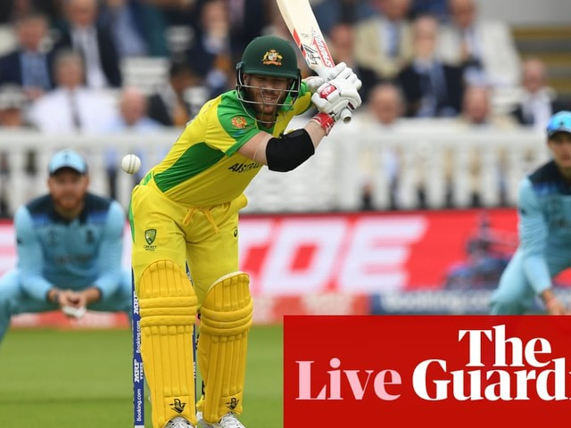 England v Australia: Cricket World Cup 2019 – live!