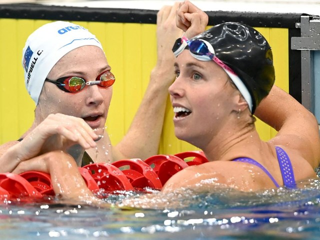 Australian medal hopefuls clock world's fastest times at Sydney Open