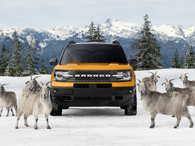 Ford Had To Interview… Goats For Its 2021 Bronco Sport G.O.A.T. Mode Commercial