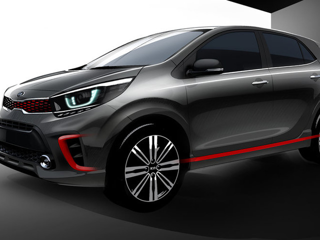 2017 Kia Picanto teased ahead of Detroit