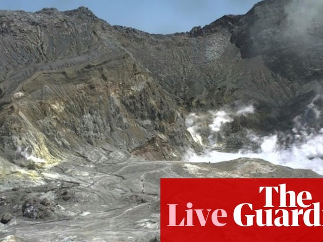 New Zealand volcano: one dead and 'likely to be more' after eruption on White Island – live