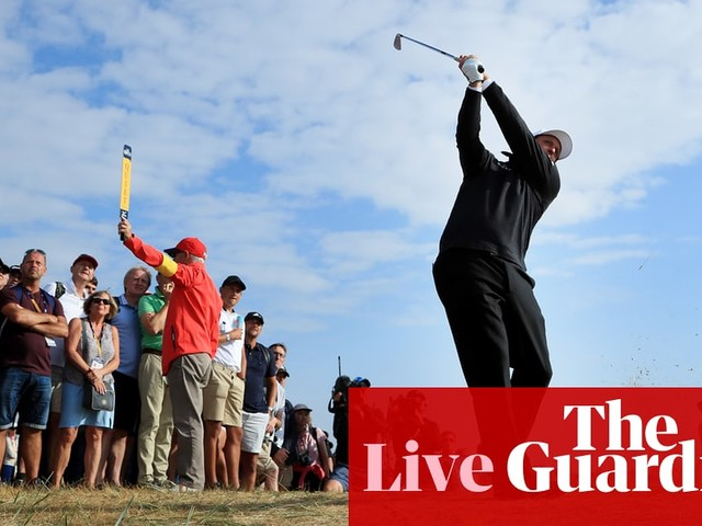 The Open 2018: first round – live!