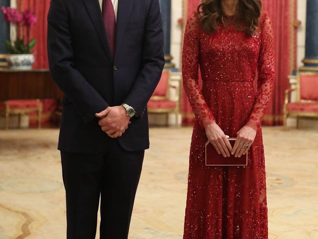 Prince William and Catherine host their first reception for the UK-Africa Summit at Buckingham Palace
