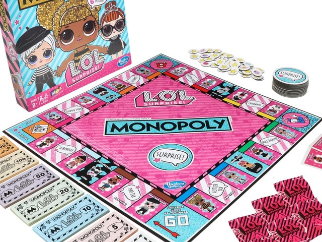 L.O.L. Surprise Monopoly Is Coming, and Yes, There Are Blind Bags in the Box