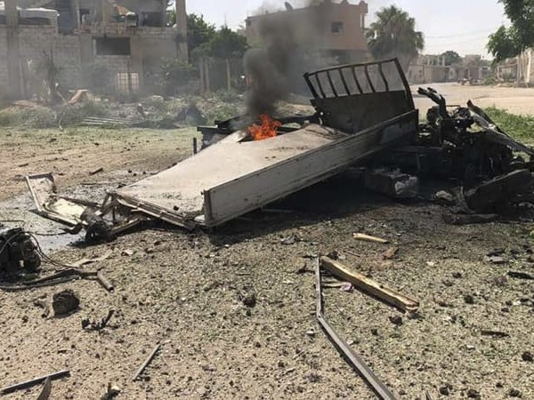 Syrian forces' bombing intensifies in southern rebel holdout
