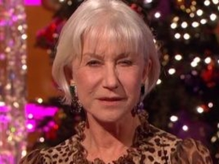 Helen Mirren isn't mincing her words - not even for Christmas itself