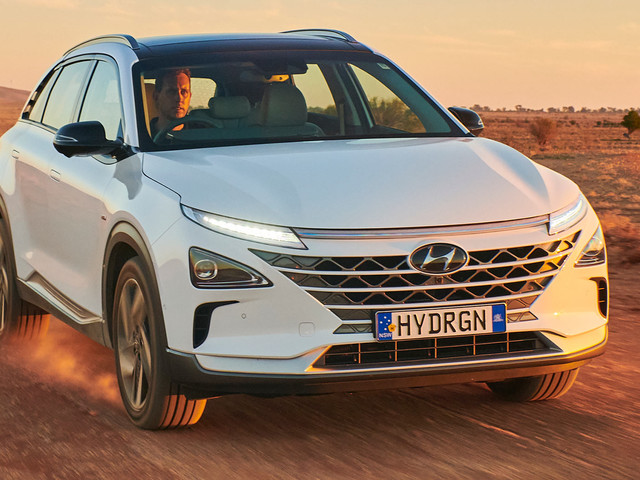 Hyundai Nexo Travels 551.4 Miles On A Single Tank Of Hydrogen, Sets New World Record