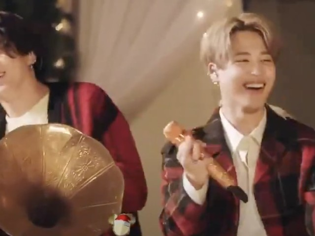 BTS's Disney Holiday Singalong Performance Makes Us Want a Holiday Album