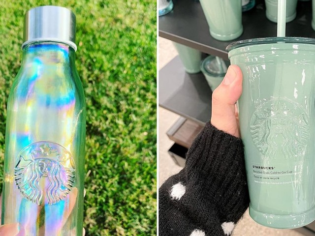 ICYMI, Starbucks Is Selling the Prettiest Drinkware Made of Recycled Glass