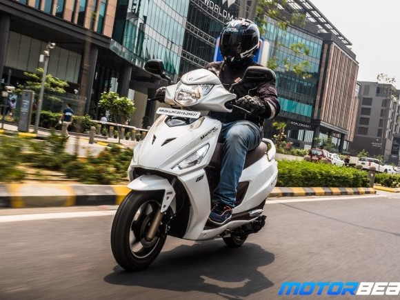Hero Maestro Edge 125 Test Ride Review – First FI Scooter
