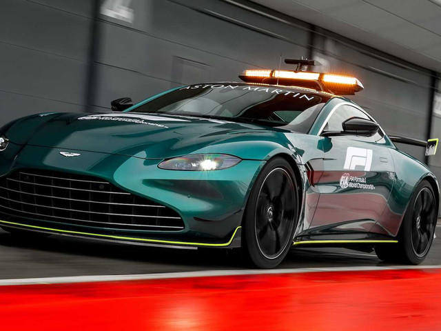 This Aston Martin Vantage Is Formula 1's New Safety Car
