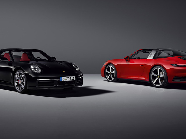 2021 Porsche 911 Targa 4 And Targa 4S Land With Retro Looks