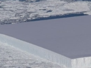 NASA discovers the most perfect iceberg