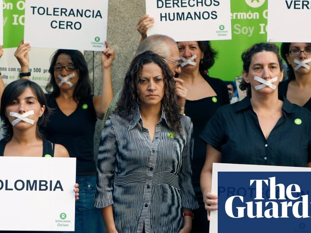 'Colombia's sliding backwards': journalists face hundreds of attacks