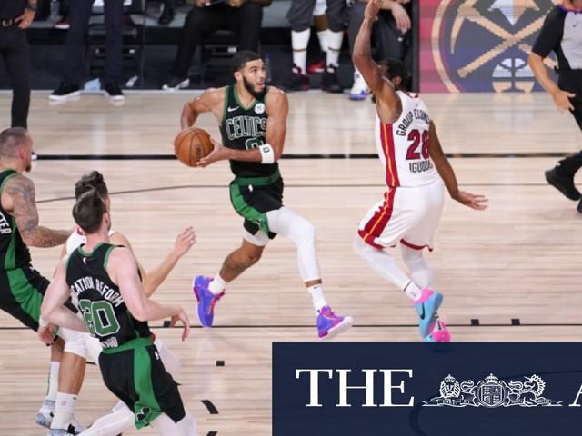 Boston Celtics fight back against Miami Heat