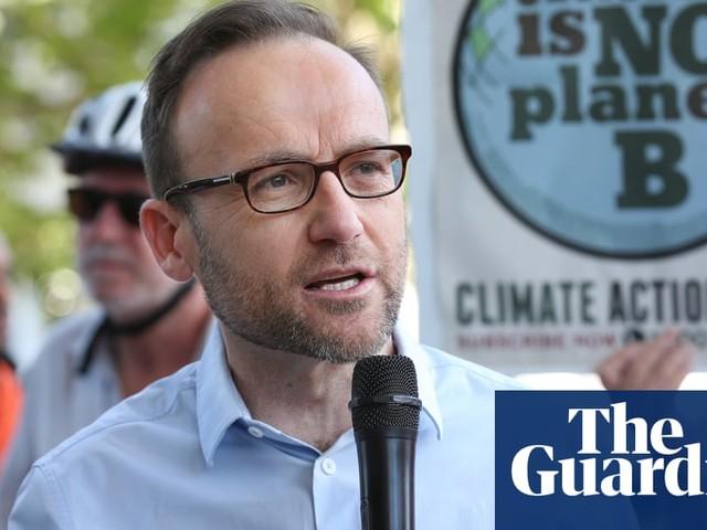 Greens MP Adam Bandt defends senator who called major party politicians 'arsonists'